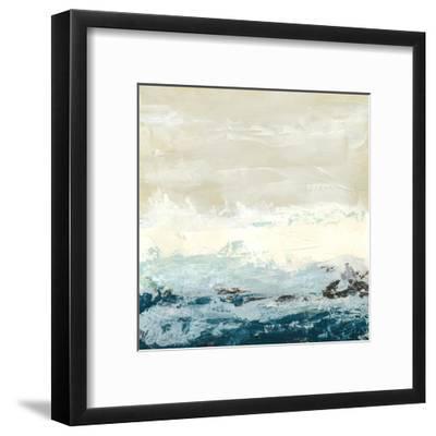 Coastal Currents I-Erica J^ Vess-Framed Art Print