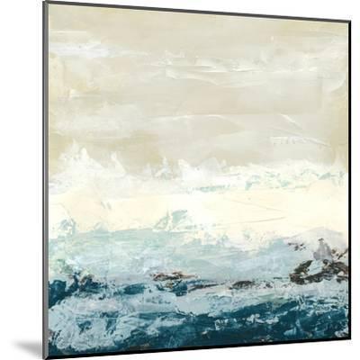 Coastal Currents I-Erica J^ Vess-Mounted Art Print