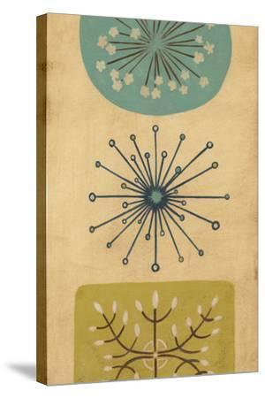 Starburst Trio I-June Erica Vess-Stretched Canvas Print