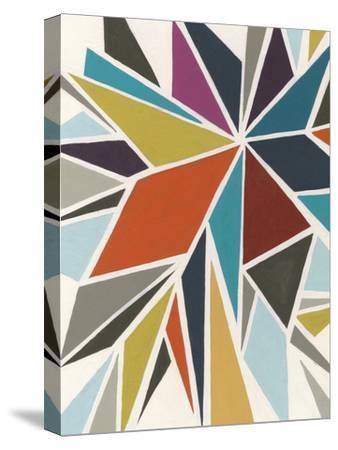 Pinwheel I-Erica J^ Vess-Stretched Canvas Print
