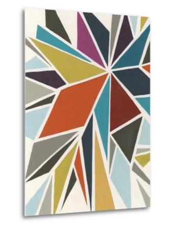 Pinwheel I-Erica J^ Vess-Metal Print
