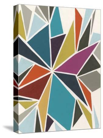 Pinwheel II-Erica J^ Vess-Stretched Canvas Print