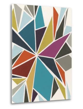 Pinwheel II-Erica J^ Vess-Metal Print