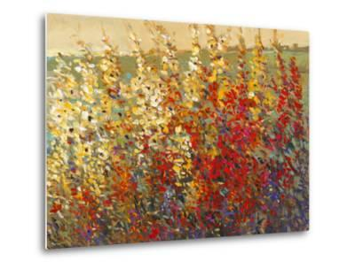 Field of Spring Flowers I-Tim O'toole-Metal Print