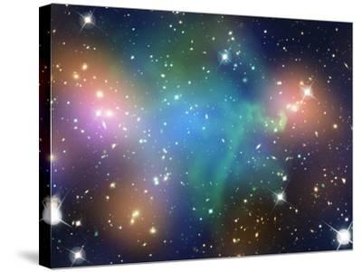 SAO: Abell 520--Stretched Canvas Print