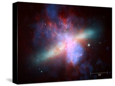 m82 scale--Stretched Canvas Print