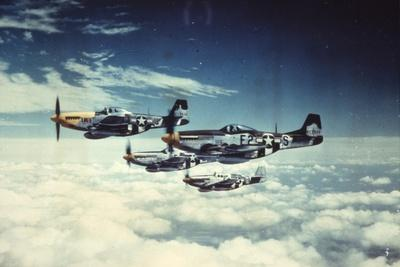 Air and Space: 361st Fight Group, Eighth Air Force--Framed Premium Giclee Print