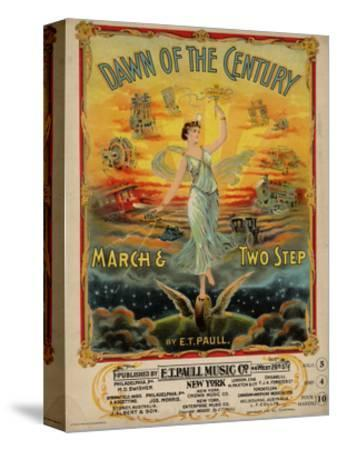Dawn of the Century March & Two Step, Sam DeVincent Collection, National Museum of American History--Stretched Canvas Print
