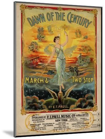 Dawn of the Century March & Two Step, Sam DeVincent Collection, National Museum of American History--Mounted Premium Giclee Print