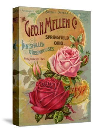 Seed Catalogues: The Geo. H. Mellen Co. Condensed Catalogue of Special Offers--Stretched Canvas Print