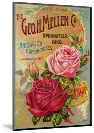 Seed Catalogues: The Geo. H. Mellen Co. Condensed Catalogue of Special Offers--Mounted Premium Giclee Print