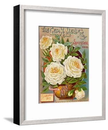 Seed Catalogues: The Geo. H. Mellen Co. Condensed Catalogue of Special Offers--Framed Premium Giclee Print