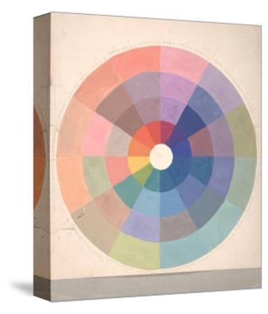 Rudolph Schaeffer, Color Wheel; Archive of American Art--Stretched Canvas Print