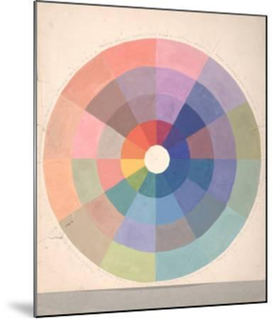 Rudolph Schaeffer, Color Wheel; Archive of American Art--Mounted Premium Giclee Print
