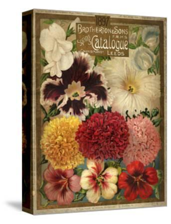 1897 Brotherton and Sons Spring Catalogue--Stretched Canvas Print