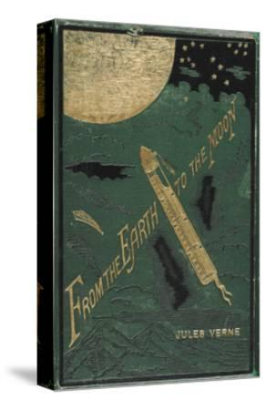 Smithsonian Libraries: Jules Verne Cover--Stretched Canvas Print
