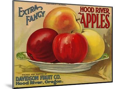 Warshaw Collection of Business Americana Food; Fruit Crate Labels, Davidson Fruit Co.--Mounted Premium Giclee Print