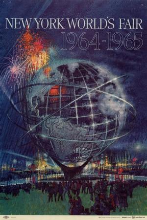 World's Fair: New York World's Fair 1964-1965--Framed Premium Giclee Print