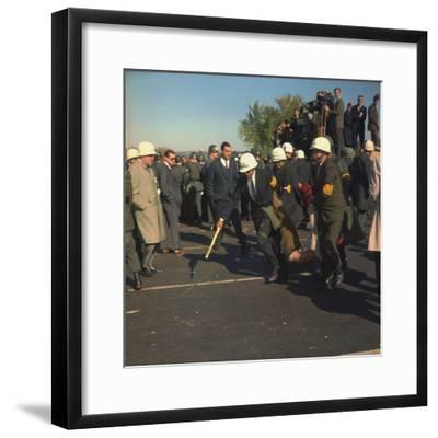 US Marshals Remove an Anti-Vietnam War Protester at the Pentagon, Oct, 22, 1967--Framed Photo