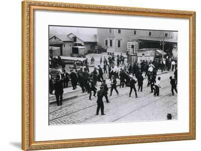 5 Strikers Were Killed by Company Guards at Standard Oil Works, Bayonne, NJ, 1915--Framed Photo