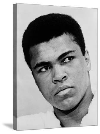Muhammad Ali in 1967, the Year He Refused Induction into the U.S. Military--Stretched Canvas Print
