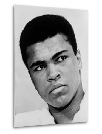 Muhammad Ali in 1967, the Year He Refused Induction into the U.S. Military--Metal Print