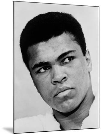 Muhammad Ali in 1967, the Year He Refused Induction into the U.S. Military--Mounted Photo