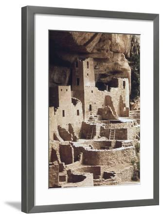 The Cliff Palace at the Mesa Verde Was Inhabited in the 12-13th Centuries--Framed Photo