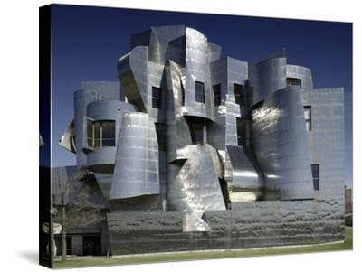 Frederick R. Weisman Art Museum Designed by Frank Gehry Opened in 1993--Stretched Canvas Print