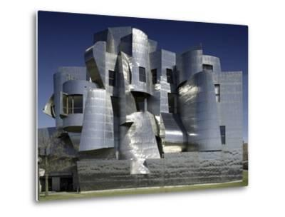 Frederick R. Weisman Art Museum Designed by Frank Gehry Opened in 1993--Metal Print