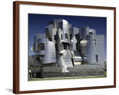 Frederick R. Weisman Art Museum Designed by Frank Gehry Opened in 1993--Framed Photo