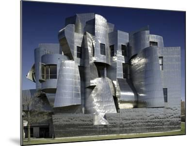 Frederick R. Weisman Art Museum Designed by Frank Gehry Opened in 1993--Mounted Photo