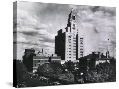 Mayo Clinic and Foundation, in Rochester, Minnesota in 1928--Stretched Canvas Print