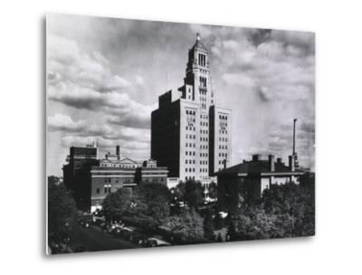 Mayo Clinic and Foundation, in Rochester, Minnesota in 1928--Metal Print