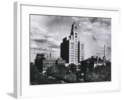 Mayo Clinic and Foundation, in Rochester, Minnesota in 1928--Framed Photo