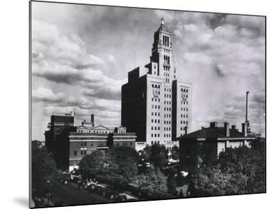 Mayo Clinic and Foundation, in Rochester, Minnesota in 1928--Mounted Photo