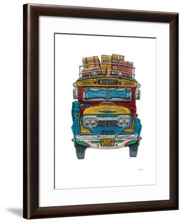 Colombian Bus-Barry Goodman-Framed Giclee Print