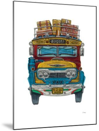 Colombian Bus-Barry Goodman-Mounted Giclee Print