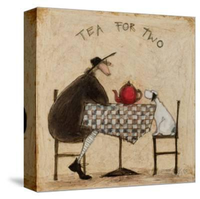 Tea for Two-Sam Toft-Stretched Canvas Print