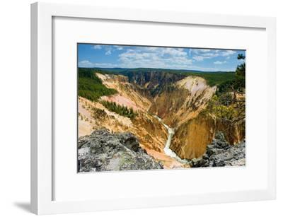 Grand Canyon of Yellowstone-Howard Ruby-Framed Photographic Print