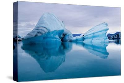 Ice Sculpture-Howard Ruby-Stretched Canvas Print