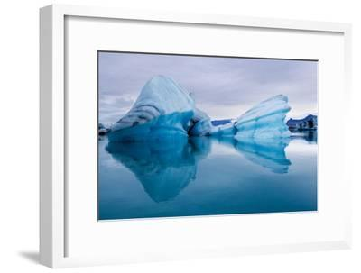 Ice Sculpture-Howard Ruby-Framed Photographic Print
