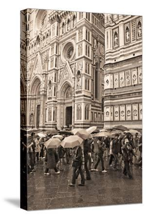 Streets of Florence I-Rita Crane-Stretched Canvas Print