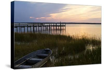 Sunset over the Channel 3-Alan Hausenflock-Stretched Canvas Print