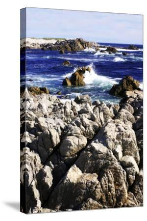 Pacific Blue I-Alan Hausenflock-Stretched Canvas Print