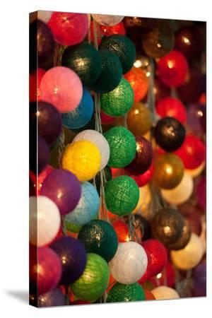 Colorful Lights II-Erin Berzel-Stretched Canvas Print