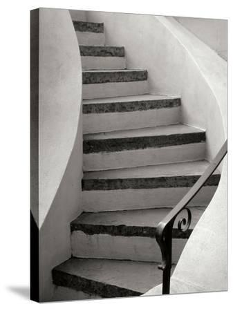 Savannah Stairwell-Jim Christensen-Stretched Canvas Print