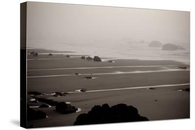 Beach at Seal Rock II-Erin Berzel-Stretched Canvas Print