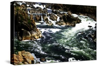 Great Falls I-Alan Hausenflock-Stretched Canvas Print