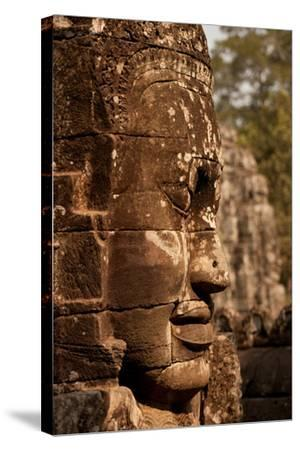 Bayon Face II-Erin Berzel-Stretched Canvas Print